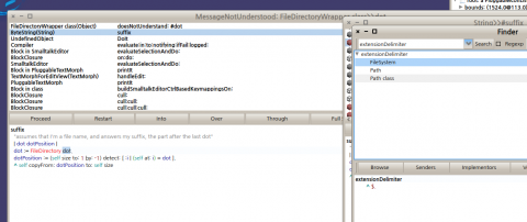 Pharo 2.0에서 extensionDelimiter를 사용하는곳의 검색결과